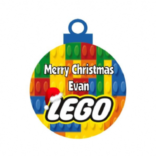 Lego Acrylic Christmas Ornament Decoration